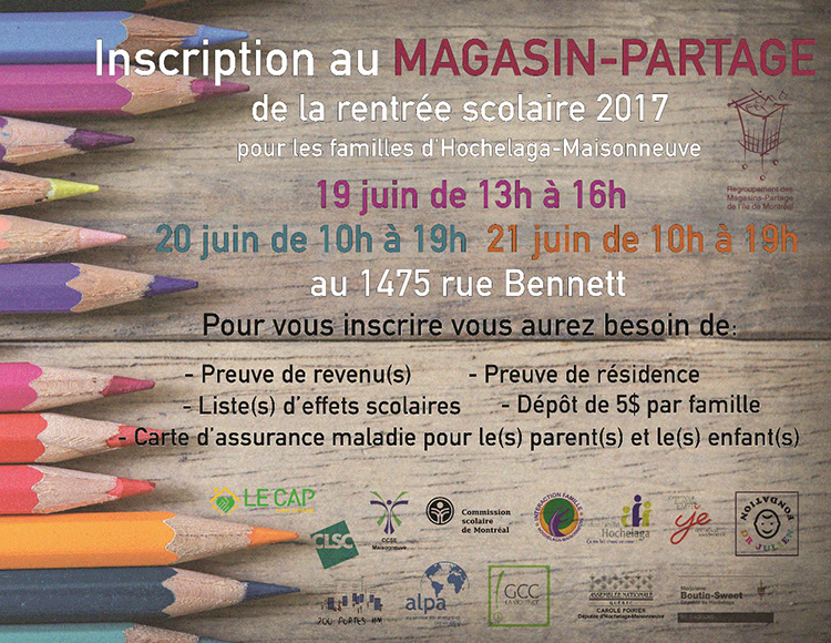 magasin partage2017